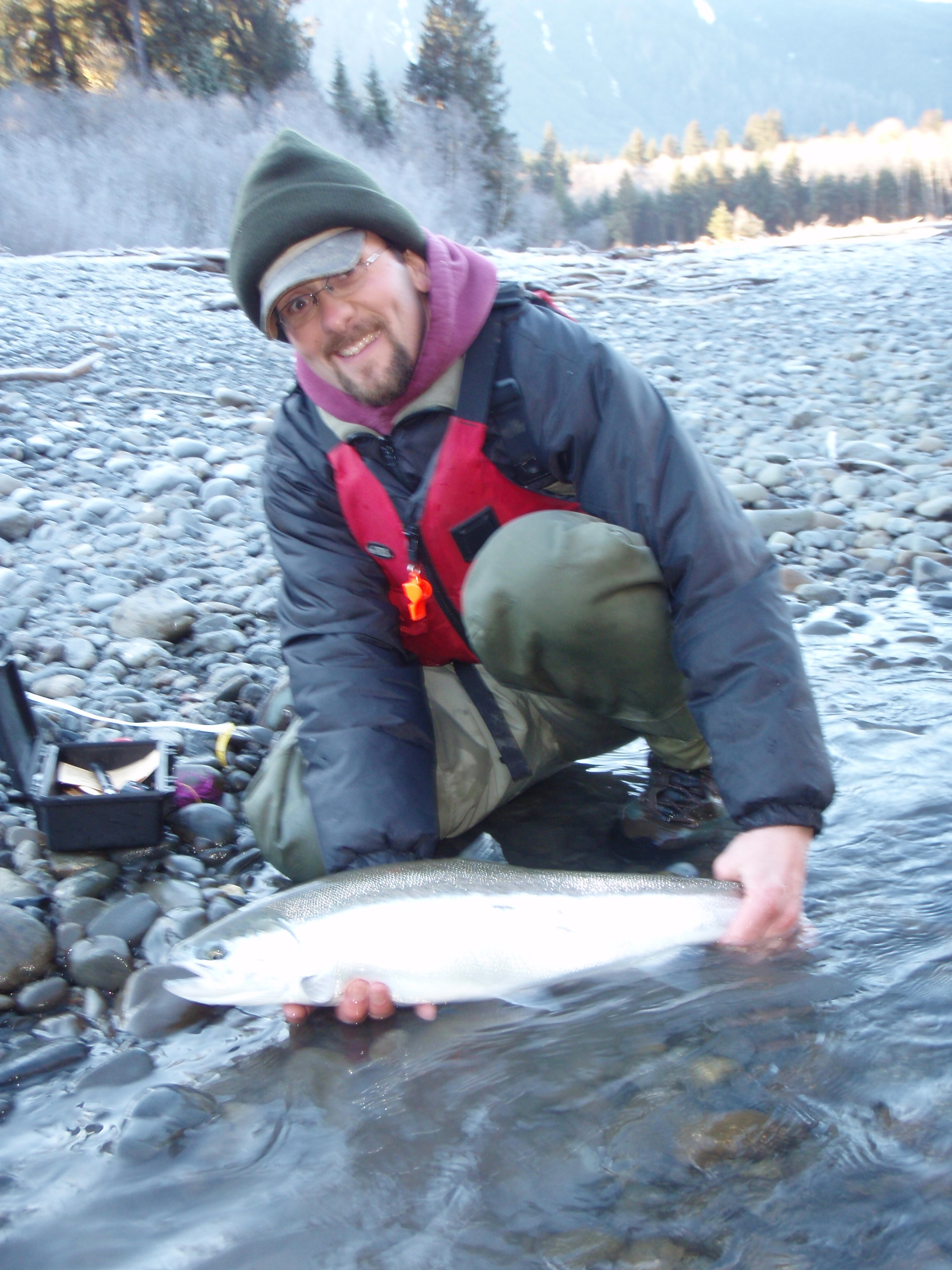 Adam mcnamara royal humpy fly fishing for Hoh river fishing