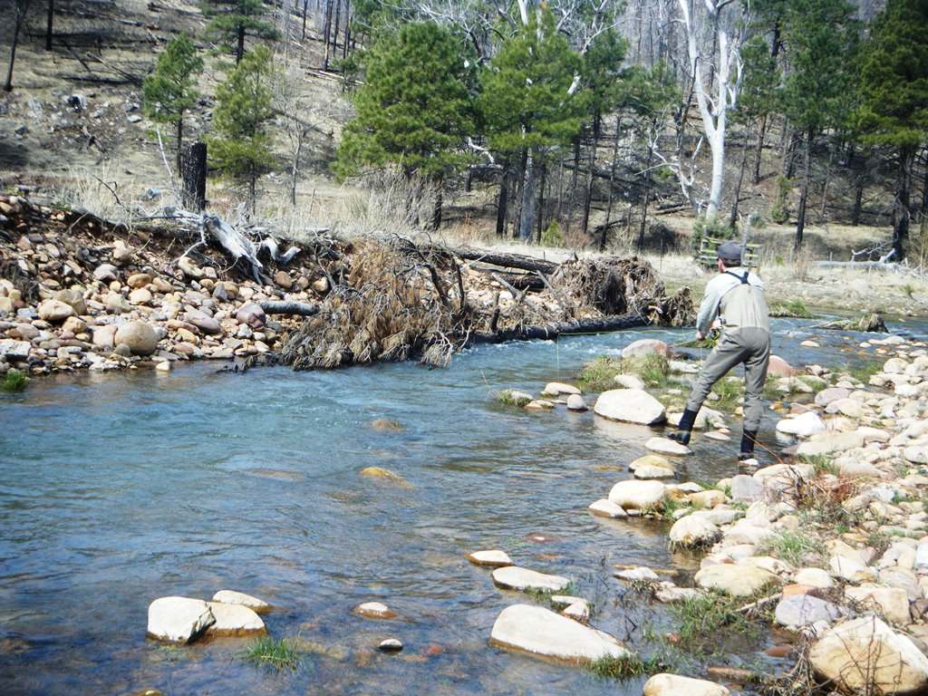 Remote small streams fly fish az for Small creek fishing